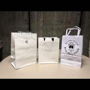 Apple, Rag & Bone and Italian bags